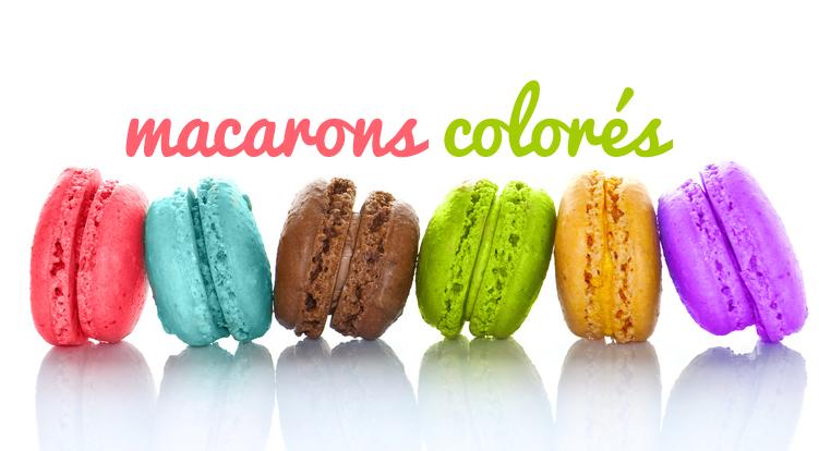 macarons colors - Colorant Macaron