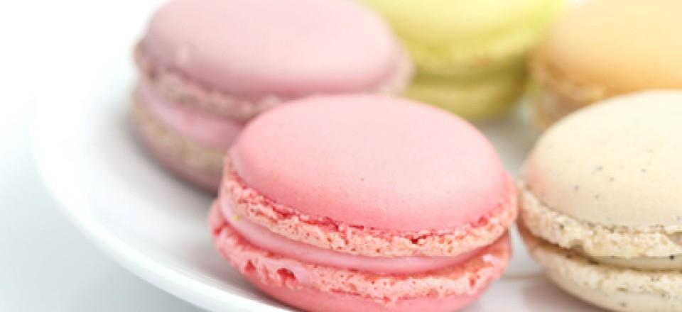 macarons pastels